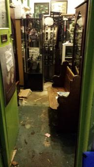 Claddagh & Celtic will temporarily close its doors while flood damage is repaired