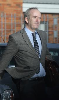 Niall Mellon pictured leaving Tallaght District Courts today