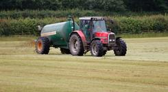 Pat Minnock urges people to do a deal with neighbours on slurry, as fertiliser costs remain stubbornly high. Photo: Thinkstock.