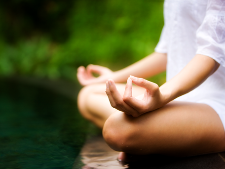 Taking time out for yourself, perhaps through activities like meditating, can help build emotional resilience