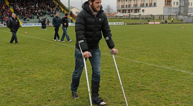 A succession of injuries dogged Cadogan's 2013 campaign