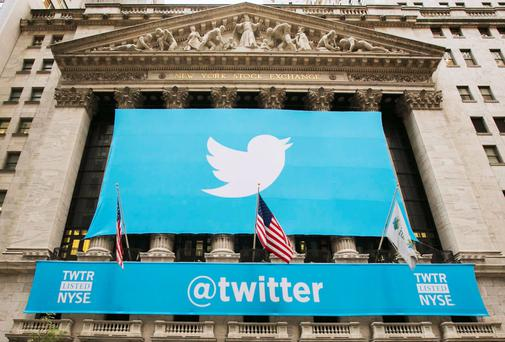 Twitter comes to Wall Street.