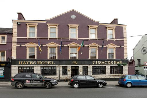 Hayes Hotel in Thurles. Photo: Press 22
