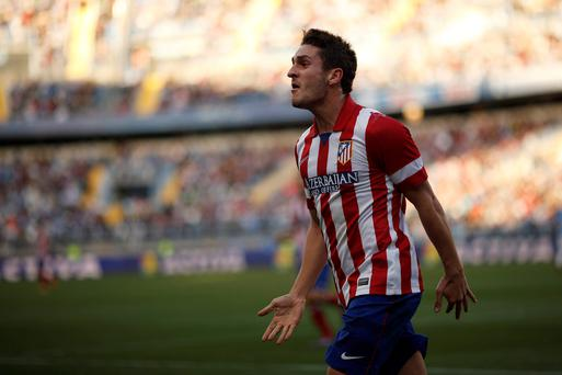 Atletico Madrid's Koke. Picture credit: Jon Nazca/REUTERS