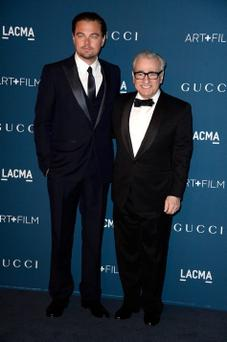Leonardo DiCaprio and director Martin Scorsese