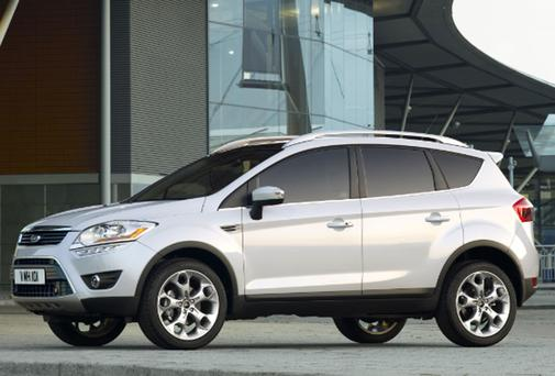 The Ford Kuga Titanium S would be Deirdre Keating's ideal car.