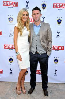 Claudine Keane with husband Robbie Keane