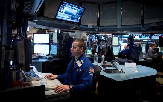 The strong figures had little impact on the trading floor.