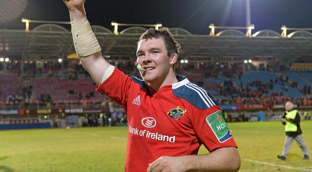 Munster captain Peter O'Mahony