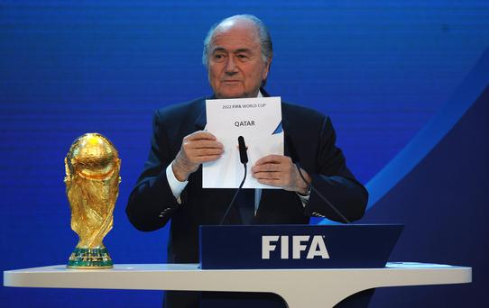 FIFA General Secretary Jerome Valcke has confirmed in an interview with Radio France that the Qatar 2022 World Cup will not be held in summer months.