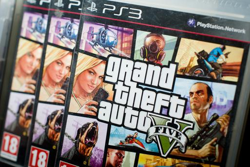 The Grand Theft Auto series is controversial due to its violent content