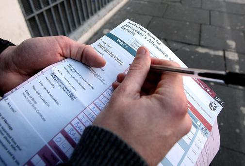 Unemployment rate drops to 12pc. Picture: Mark Condren