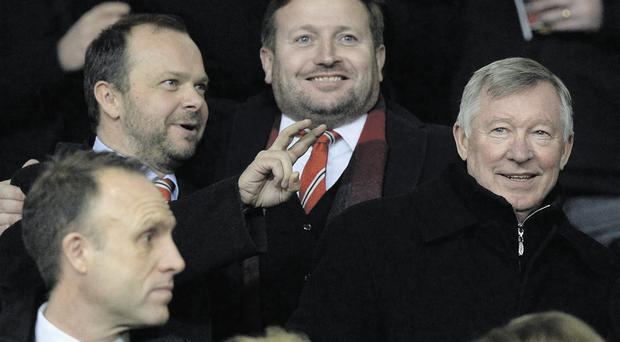 Alex Ferguson's appearance at United matches this season has cast a shadow over David Moyes' reign