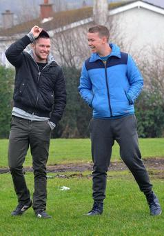 Jack Reynor was joined onset by British actor Will Poulter,who was yesterday nominated for Rising Star Award by BAFTA