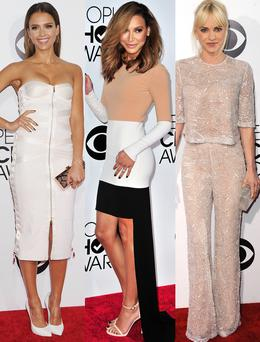 Jessica Alba, Naya Rivera and Anna Faris are just some of the celebs whose looks we loved at the People's Choice Awards