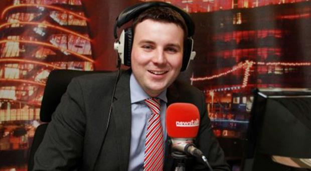 Newstalk radio presenter Chris Donoghue