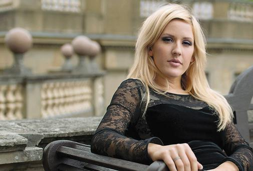 Sitting pretty: Ellie Goulding has a number one album in the UK with Halcyon, 65 weeks after it came out