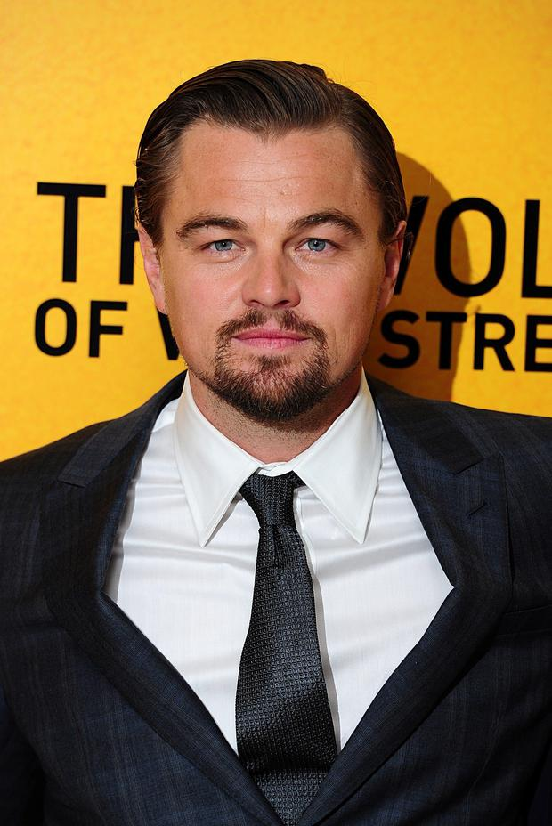 Leonardo DiCaprio attending The Wolf of Wall Street UK premiere at the Odeon Leicester Square, London: Ian West/PA Wire
