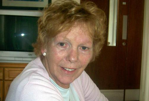 Phyllis Dunleavy: rowed with son.
