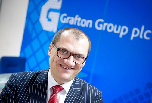 Gavin Slark, CEO of the Grafton Group