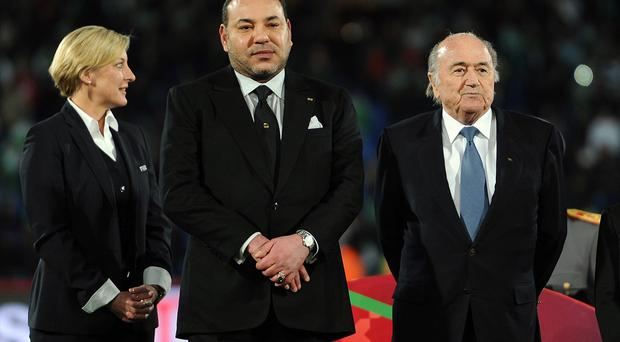 FIFA President Sepp Blatter was urging a patient reaction to the 'exhaustive consultations' now taking place behind closed doors
