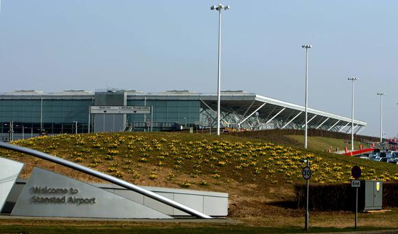 Just three UK airports - Heathrow, Gatwick and Stansted - are