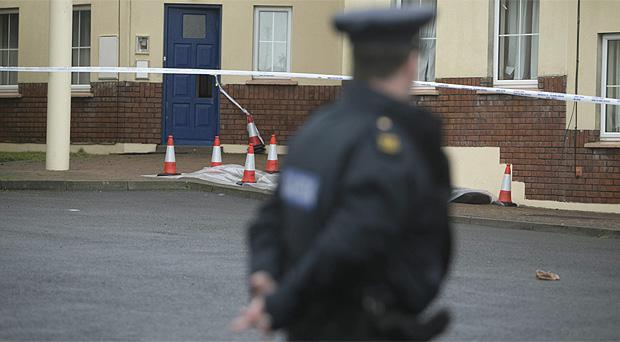 The scene of the fatal stabbing at Seafield, Tramore, Co Waterford