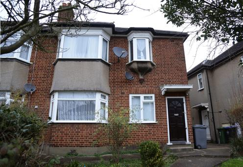 The house in Woodgrange Close, Harrow, north London, where the bodies of a woman and two children were found in an apparent murder-suicide
