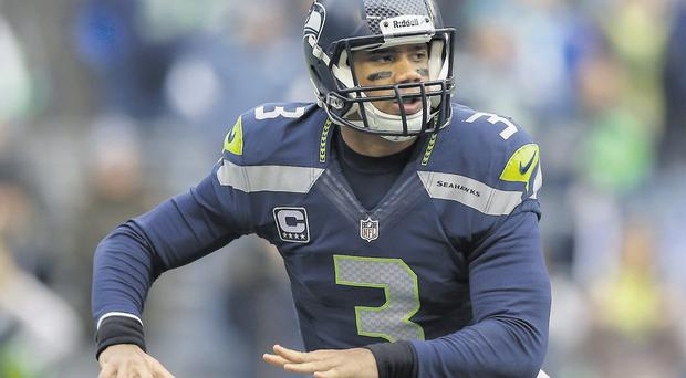 Quarterback Russell Wilson will be hoping to inspire Seattle Seahawks to victory