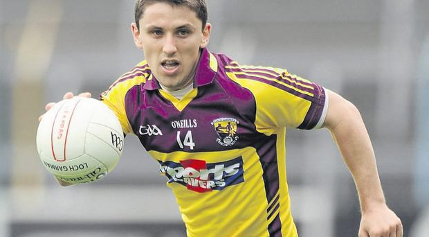 Ciaran Lyng is hoping to make his mark for Wexford this yea