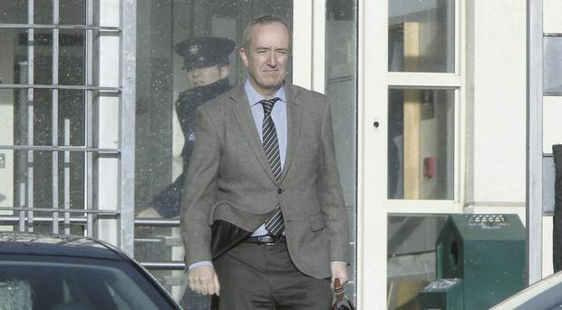 Niall Mellon at Tallaght District Court earlier this week Photo: Collins