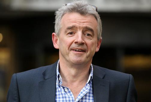 Ryanair's Michael O Leary:
