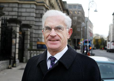 John O'Connor,Chairman designate of EirGrid arriving for the Transport and Communications Oireachtas Committee meeting at Leinster House yesterday.Pic Tom Burke 3/1/13