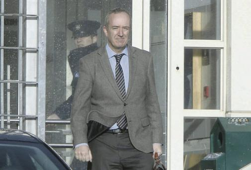 Niall Mellon at Tallaght District Court. Photo: Collins