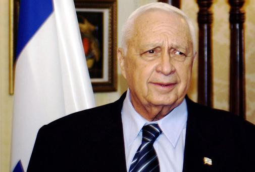 File photo dated 15/07/03 of former Israeli prime minister Ariel Sharon, who has died.
