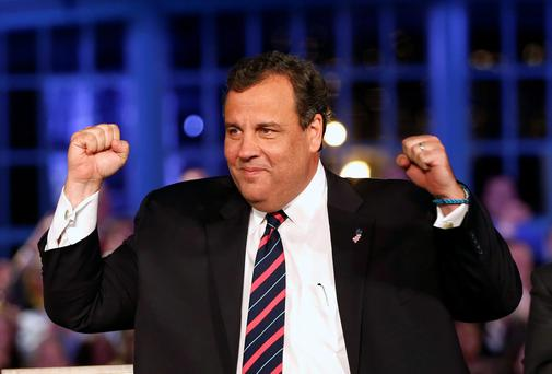 Republican New Jersey Governor Chris Christie