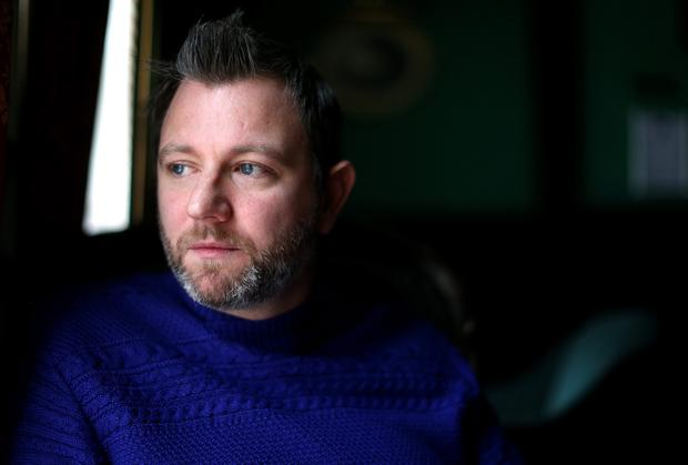CONNECTION: Scottish-born author Brian Conaghan is proud of his Irish roots