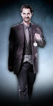 American hypnotist Dr Scott Lewis is seen in a promotional photo for the stage show 'Illusionists 2.0', which playing at the Sydney Opera House