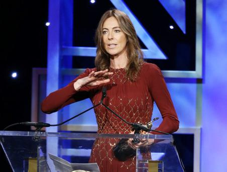 The fight for women's place at the top of Hollywood's hierarchy appeared to have been won when Kathryn Bigelow became the first woman to win the Best Director Oscar, for The Hurt Locker in 2010. (Photo by Michael Tran/FilmMagic)
