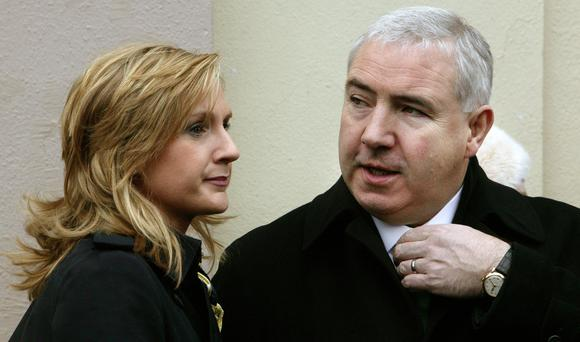 Sean Dunne and Gayle Killilea. Photo: Tony Gavin