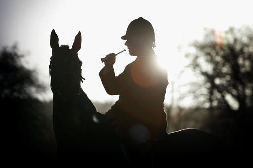 Farmers have complained about foxhunting on their land