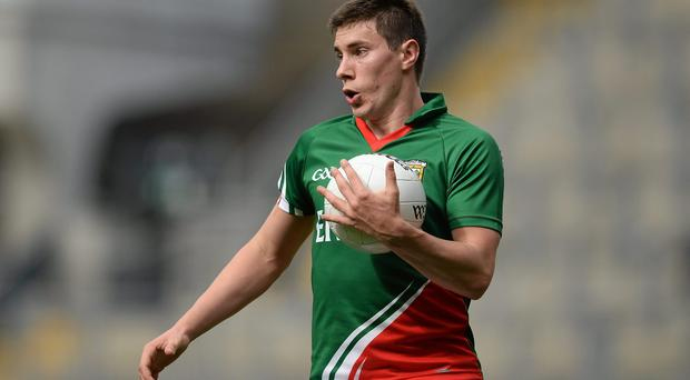 Alan Freeman, who scored a late penalty to ensure Mayo walked away with a draw