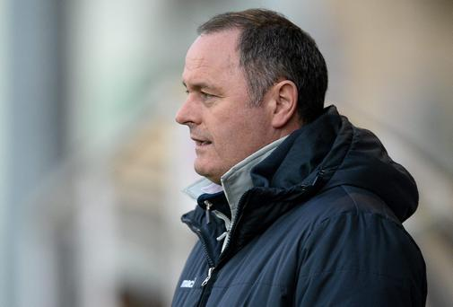 New Bray Wanderers' boss Alan Mathews