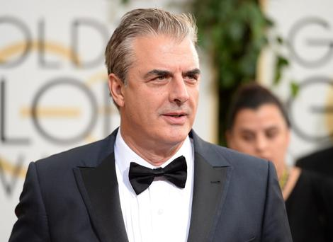 Chris Noth attends the 71st Annual Golden Globe Awards held at The Beverly Hilton Hotel on January 12, 2014 in Beverly Hills, California.