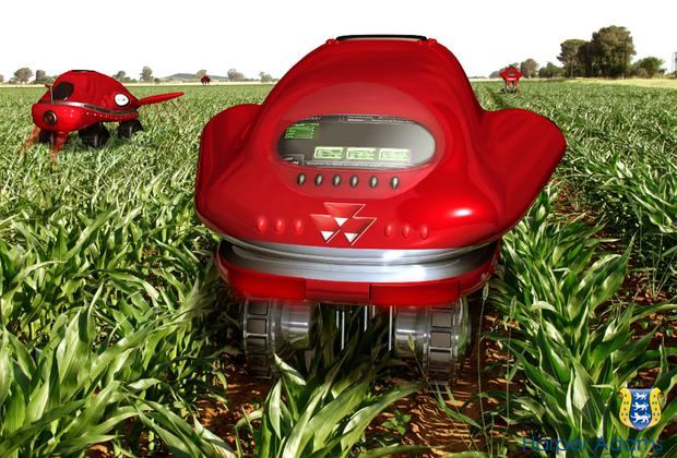 Advanced: Remote-controlled robotic tractors are thought to be the future of farming, specialising in the cultivation and harvesting of crops