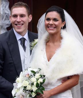 John McAreavey and Michaela Harte on their wedding day.