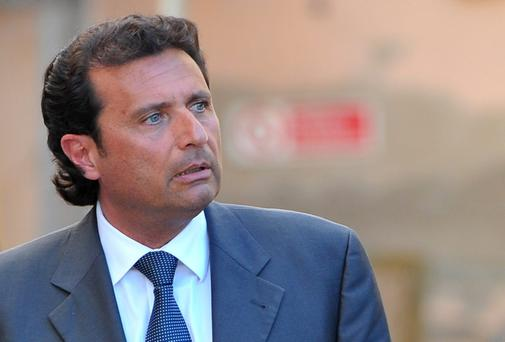 Costa Concordia captain Francesco Schettino