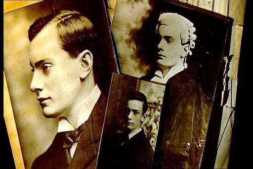 Images of Padraig Pearse, which were used to promote the RTE documentary, Padraig Pearse - Fanatic Heart.