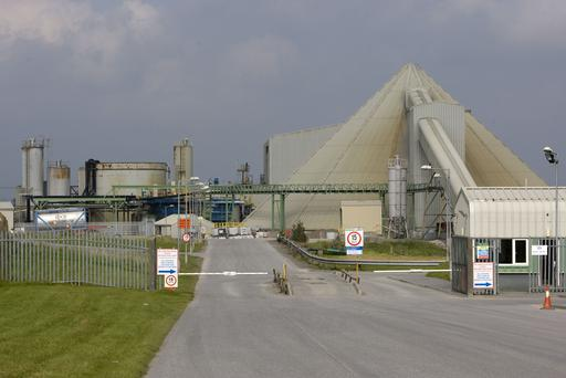 The Galmoy Mine plant in North County Kilkenny