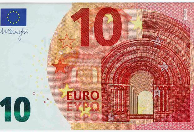 Newly Unveiled 10 Euro Note